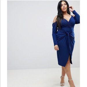 Blue Plus Cocktail Dress 14/16
